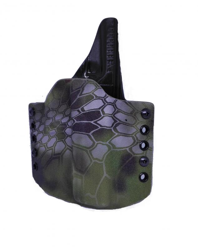 Zbraně - OWB na Glock 17 - mandrake/olivová