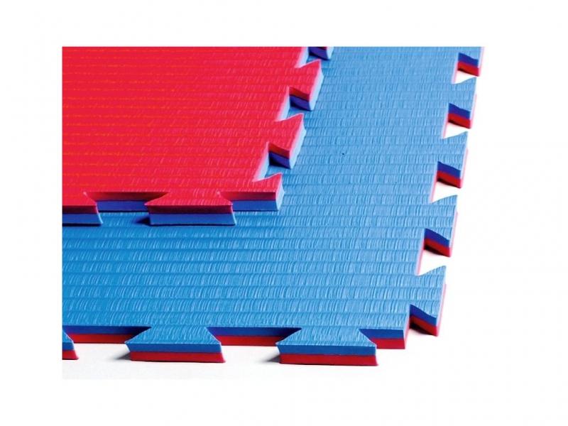 Tréninkové vybavení - Tatami 2 cm červená / modrá