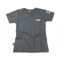 Dámské šedé tričko KMG