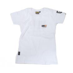 Dámské bílé tričko KMG