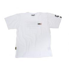 Pánské bílé tričko s KMG designem