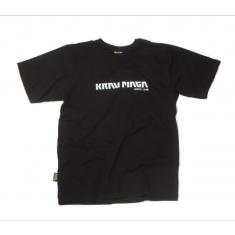 Pánské černé tričko s nápisem Krav Maga