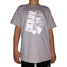 Tričko Krav Junior - Rhino šedá