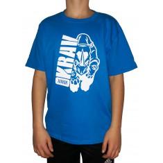 Tričko Krav Junior - Rhino modrá