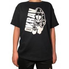 Tričko Krav Junior - Rhino černé