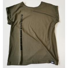 Dámské volnočasové tričko - olivová